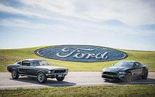Обои автомобили Ford Mustang Bullitt - 2018