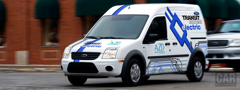 Обои автомобили Ford Transit Connect Electric - 2011 - Car wallpapers