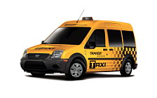 Обои автомобили Ford Transit Connect Taxi - 2011