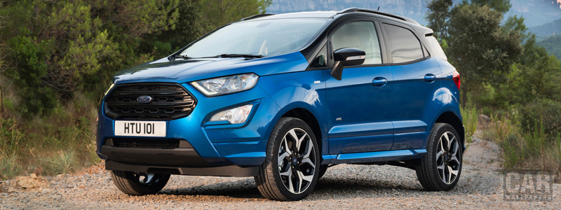 Обои автомобили Ford EcoSport ST-Line - 2017 - Car wallpapers