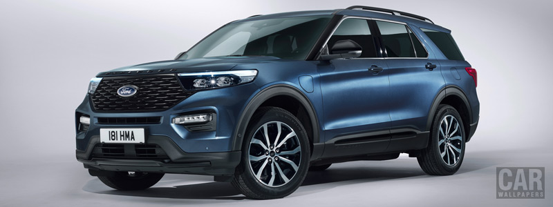 Обои автомобили Ford Explorer Plug-in Hybrid ST-Line - 2019 - Car wallpapers