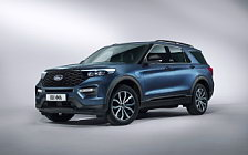 Обои автомобили Ford Explorer Plug-in Hybrid ST-Line - 2019