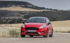 Обои автомобили Ford Fiesta ST-Line 3door - 2017