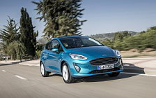 Обои автомобили Ford Fiesta Titanium 3door - 2017