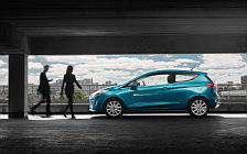 Обои автомобили Ford Fiesta Titanium 3door - 2017