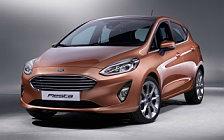 Обои автомобили Ford Fiesta Titanium 5door - 2017