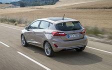 Обои автомобили Ford Fiesta Vignale 5door - 2017