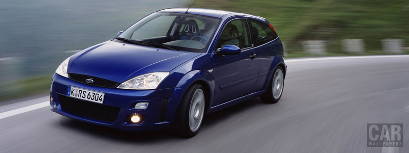 Cars wallpapers Ford Focus RS - 2001 - Car wallpapers