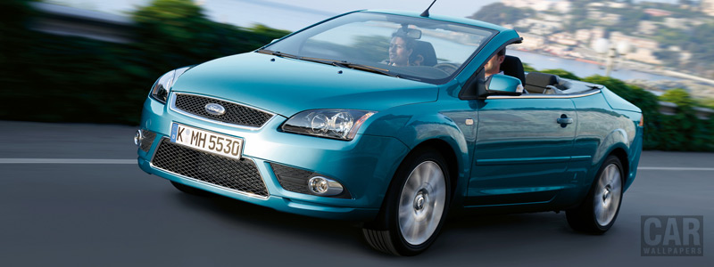 Cars wallpapers Ford Focus Coupe Cabriolet - 2006 - Car wallpapers