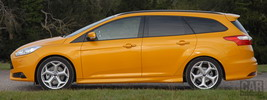 Ford Focus ST Wagon UK-spec - 2012