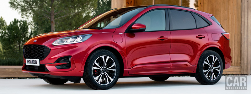 Обои автомобили Ford Kuga Plug-in Hybrid ST-Line - 2019 - Car wallpapers
