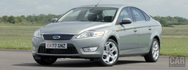 Ford Mondeo Sedan Ghia UK-spec - 2007