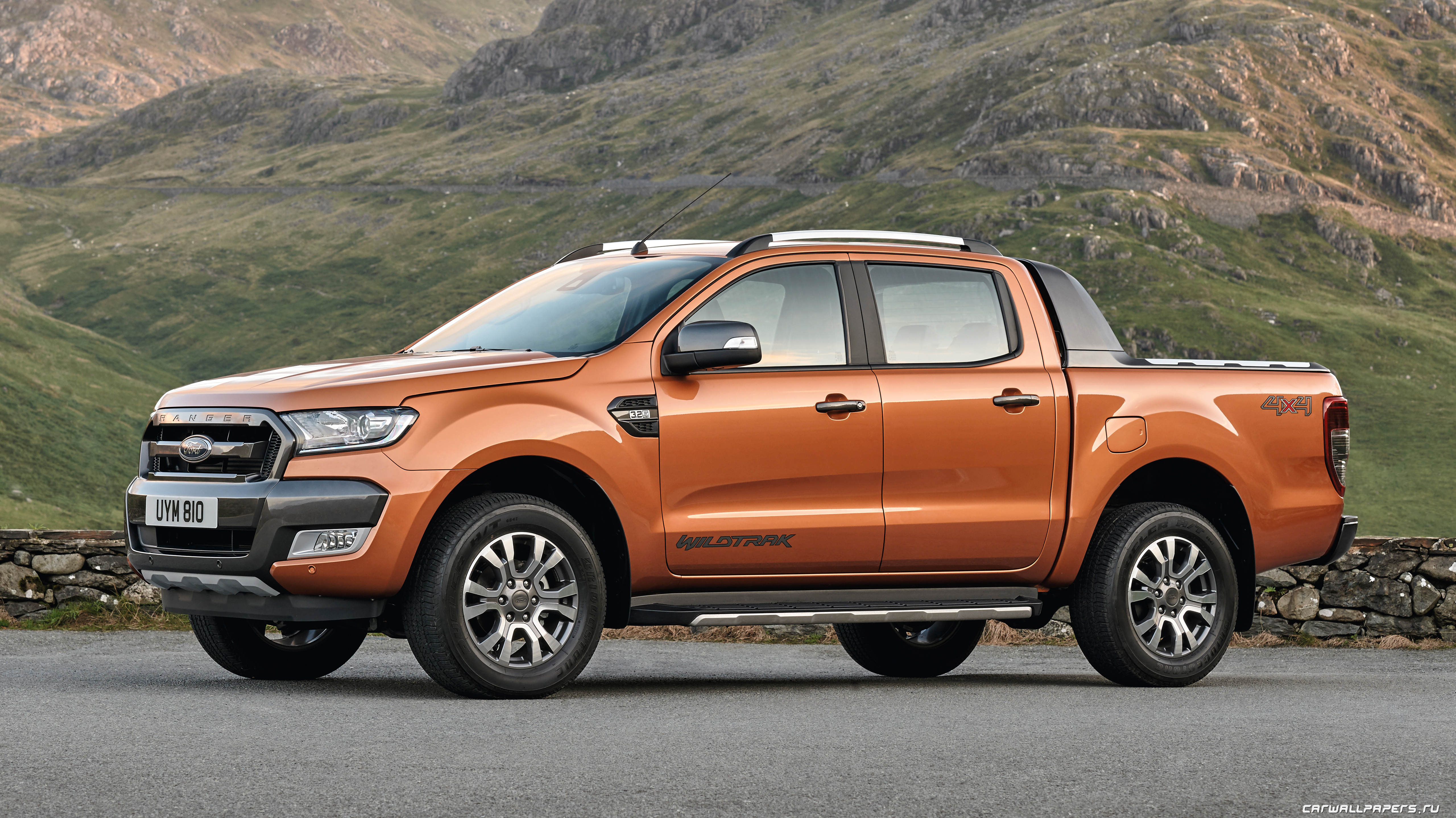 Cars Desktop Wallpapers Ford Ranger Wildtrak 2015