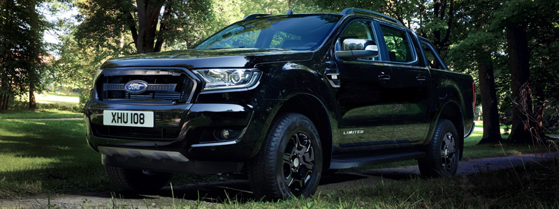Обои автомобили Ford Ranger Limited Black Edition Double Cab - 2017 - Car wallpapers