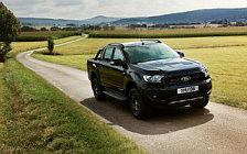 Обои автомобили Ford Ranger Limited Black Edition Double Cab - 2017