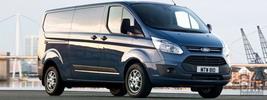 Ford Transit Custom LWB UK-spec - 2012